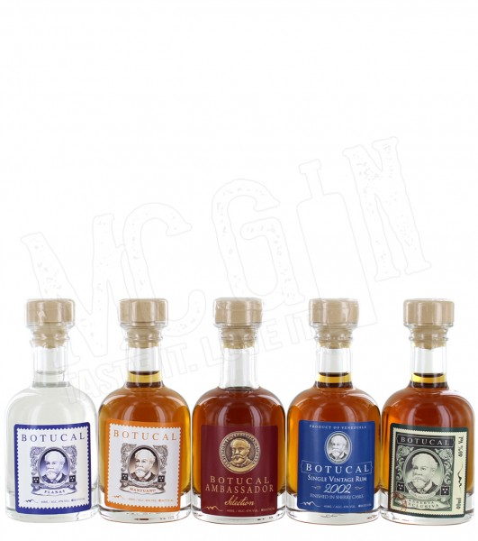 Botucal Tasting Collection 5 x 0,04 L