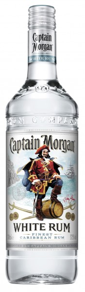 Captain Morgan White Rum - 0.7L
