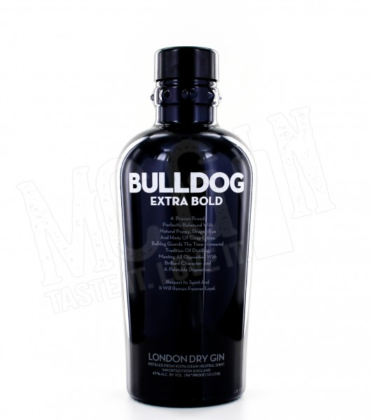 Bulldog Extra Bold London Dry Gin - 1.0L
