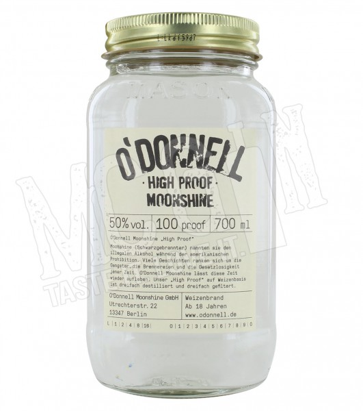 O'Donnell Moonshine High Proof - 0,7L