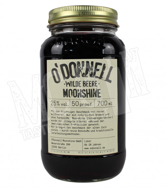 O'Donnell Moonshine Wilde Beere - 0,7L
