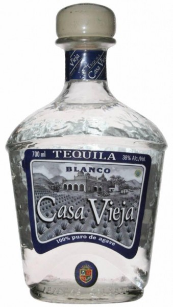 Casa Vieja Blanco Tequila 100% Agave - 0.7L