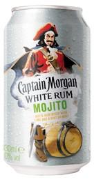 Captain Morgan White Mojito - 0.33L