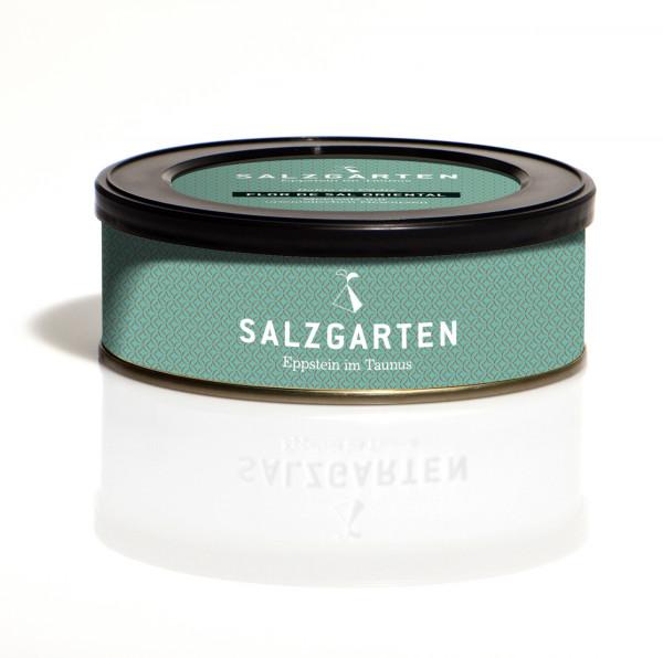 Salzgarten Flor de Sal Oriental mit orientalischen Gewürzen 60g