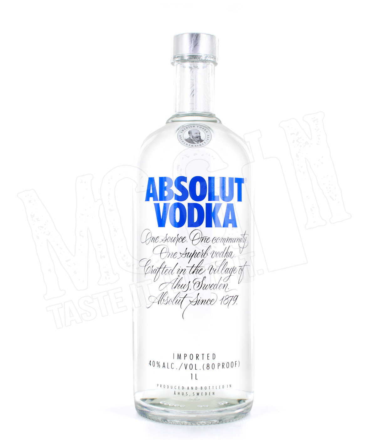 absolut vodka 1 0l ebay. Black Bedroom Furniture Sets. Home Design Ideas