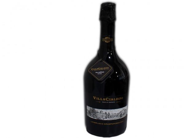 Cleto Chirarli Lambrusco secco Villa Cialdini 0,75l - 11%