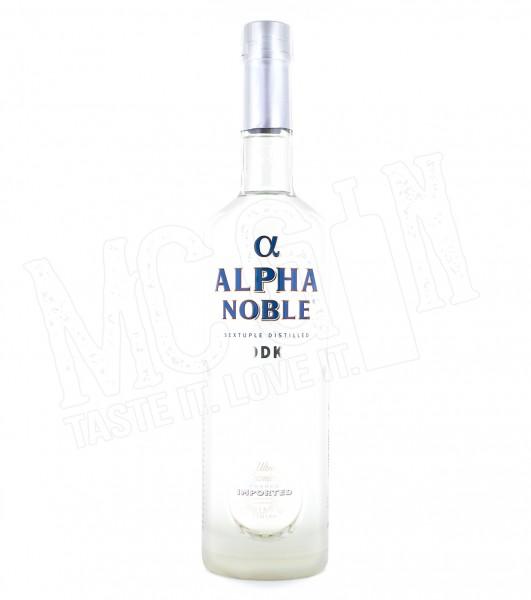 Alpha Noble Vodka - 0.7L