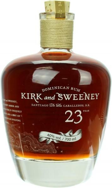 Kirk & Sweeney 23 Jahre Rum - 0.7L