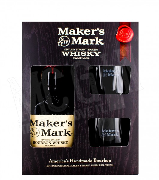 Makers Mark 0,7L + 2 Tumbler