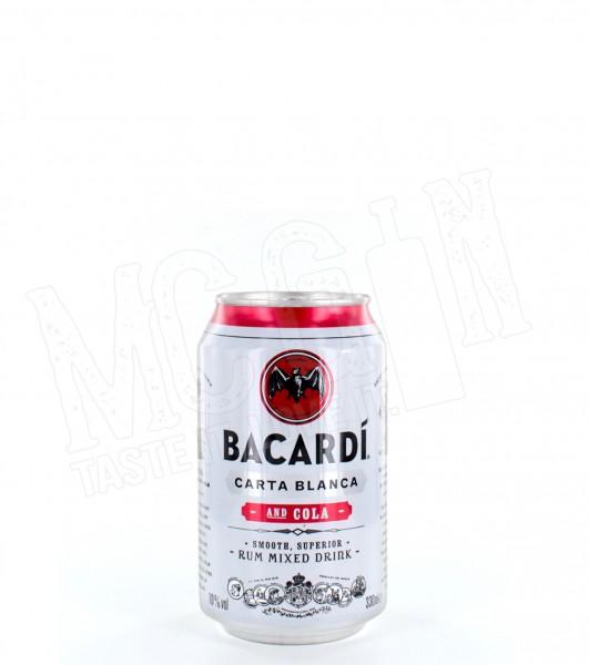 BACARDI & COLA - 0.33L