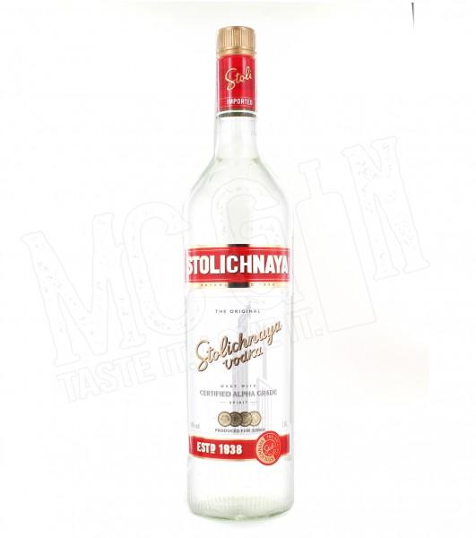 Stolichnaya Vodka - 1.0L
