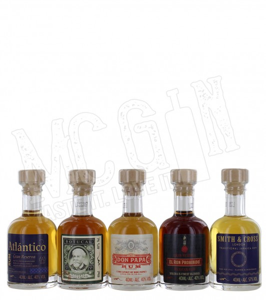 Rumtastic - Rum Tasting Selection 5 x 40ml