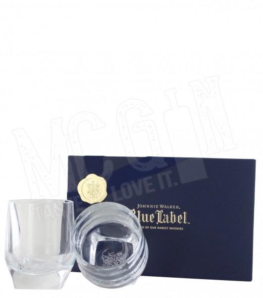 Johnnie Walker Blue Label Kristallglas Tumbler Set