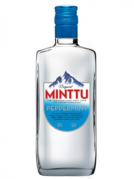 Minttu Peppermint 50 Pfefferminz Likör - 0.5L