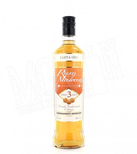 Malecon Rum Carta Oro 3 Jahre - 0.7L