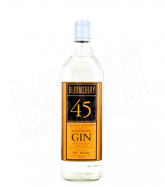 Bloomsbury 45 Orange London Dry Gin - 0.7L