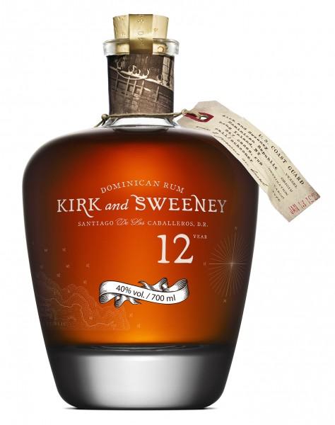 Kirk & Sweeney 12 Jahre Rum - 0.7L