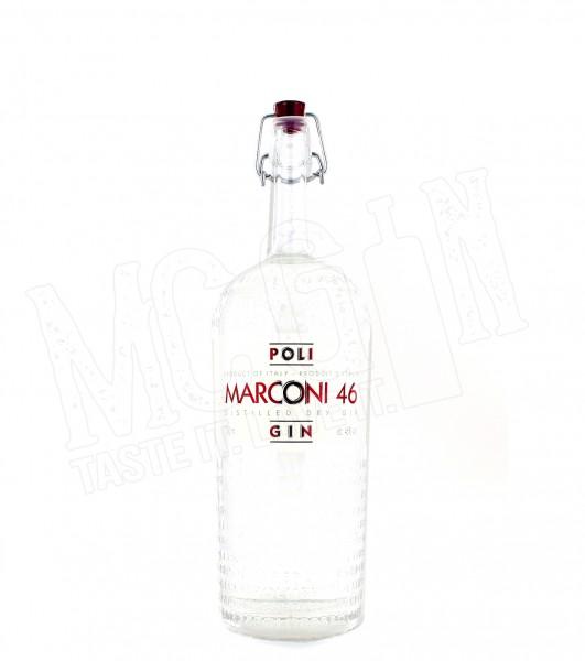 Poli Marconi 46 Distilled Dry Gin - 0.7L
