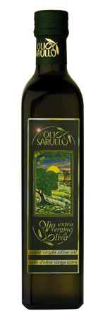 Olio Sarullo extra vergine oliva Olivenöl 0,25L