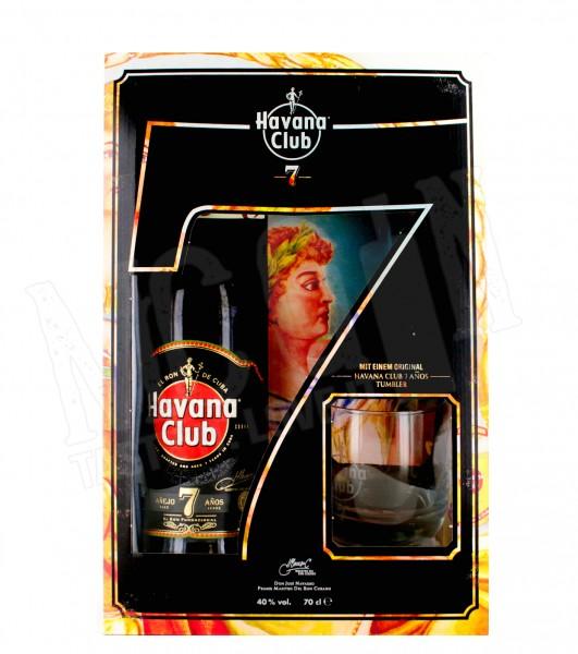Havana Club Anejo Anos - 0,7L + Glas
