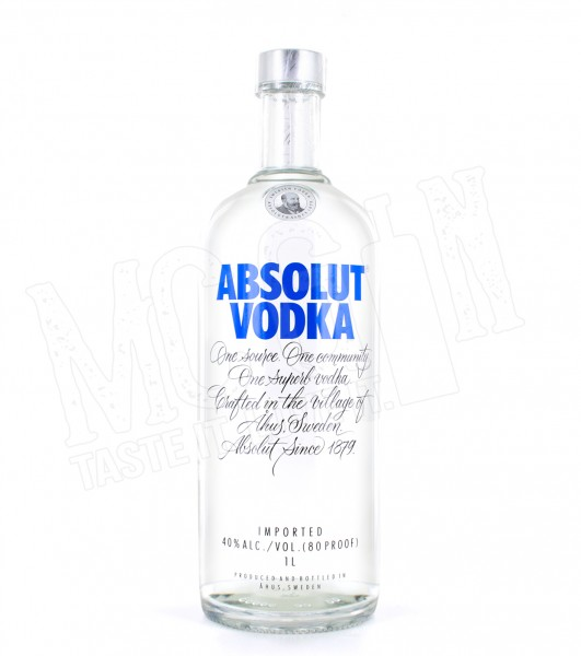 Absolut Vodka - 1.0L