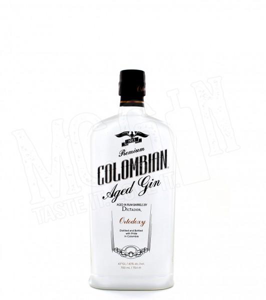 Dictador Colombian Aged White Gin Ortodoxy - 0.7L