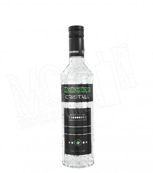 Moskovskaya Cristall Vodka - 0.5 L