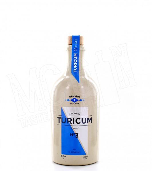 Turicum No. 3 Dry Gin - 0.5L