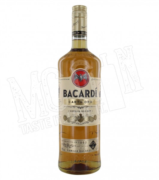 Bacardi Carta Oro - 1.0L