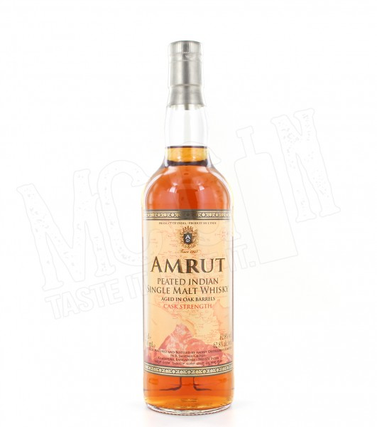 Amrut Peated Indian Cask Strength - 0.7L