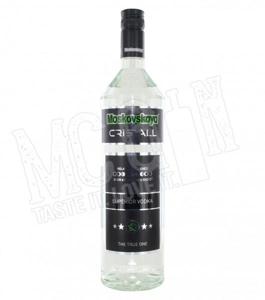 Moskovskaya Cristall Vodka - 1L