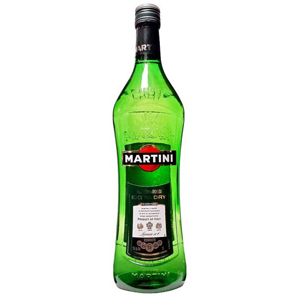 Martini Extra Dry Vermouth - 1.0L