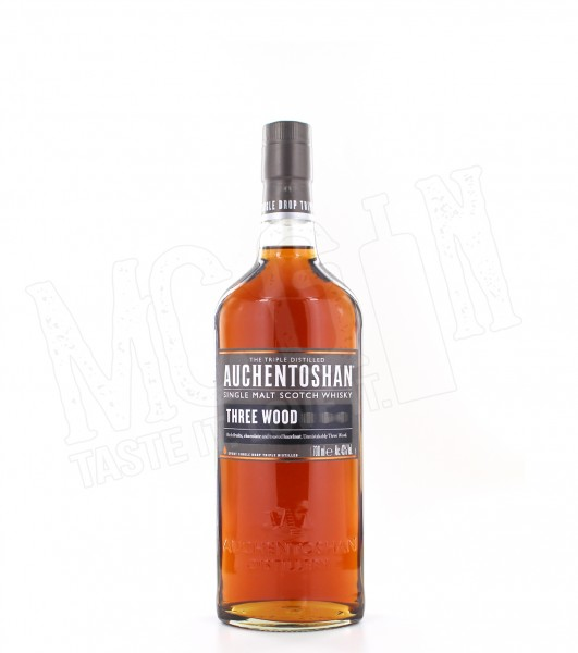 Auchentoshan Three Wood Single Malt - 0.7L