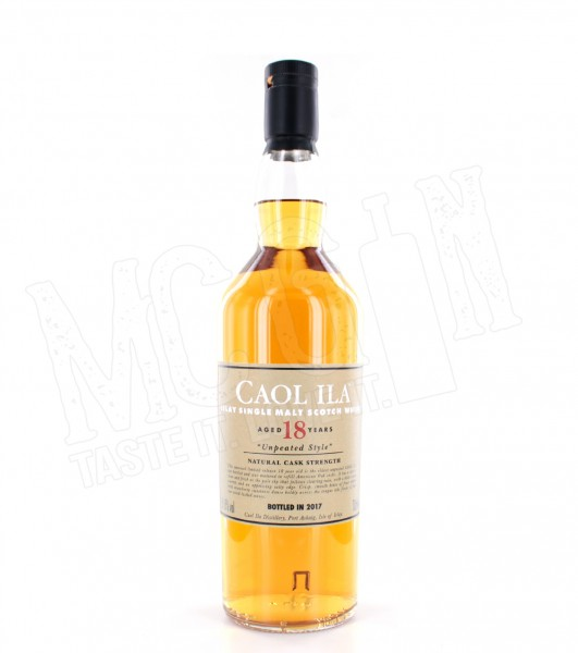 Caol Ila 18 Jahre Unpeated Malt 59,8%vol. 0,7l
