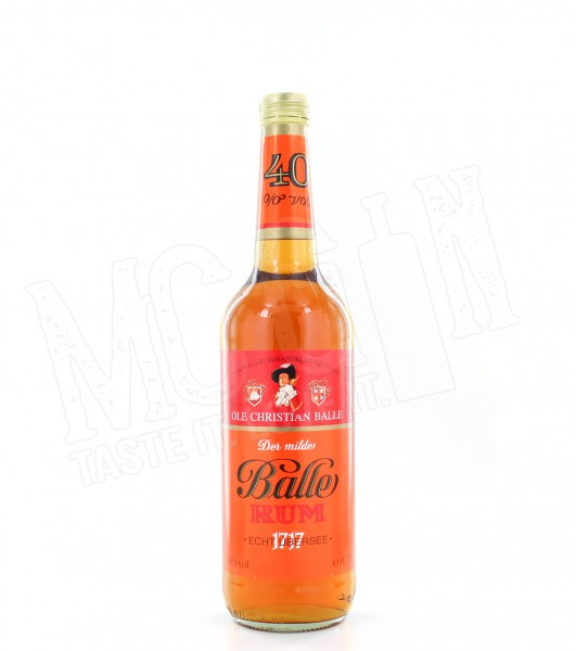 Der milde Balle Rum - 0.7L