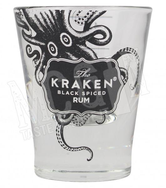 The Kraken Black Spiced Rum Shotglas