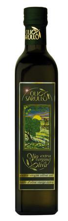 Olio Sarullo extra vergine oliva Olivenöl 0,5L