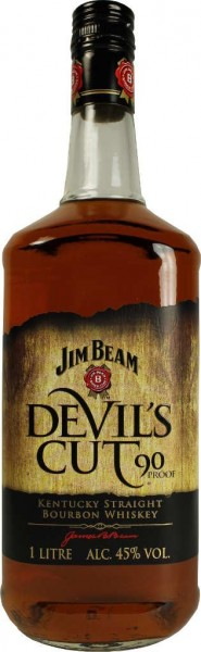 Jim Beam Devils Cut - 1.0L