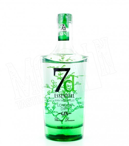 7d Essential London Dry Gin - 0.7L