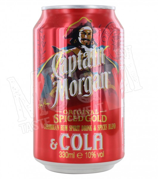 Captain Morgan Spiced & Cola - 0.33L