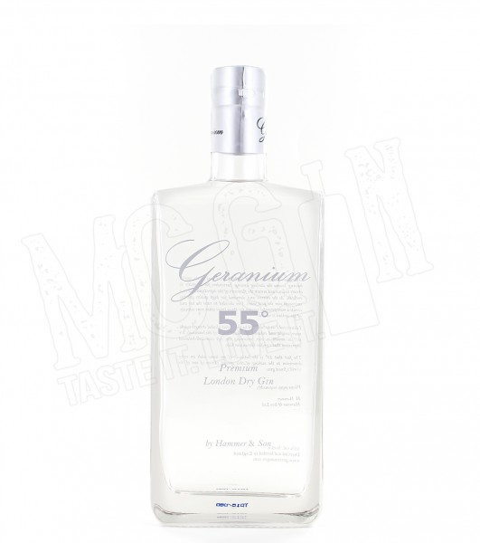 Geranium 55 Premium London Dry Gin - 0.7L
