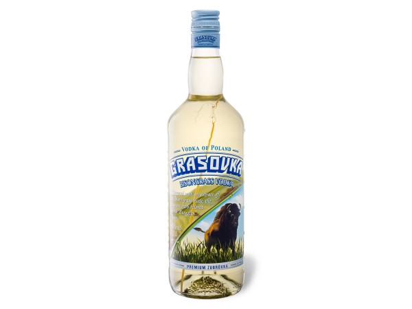 Grasovka Bisongrass Vodka - 0.7L