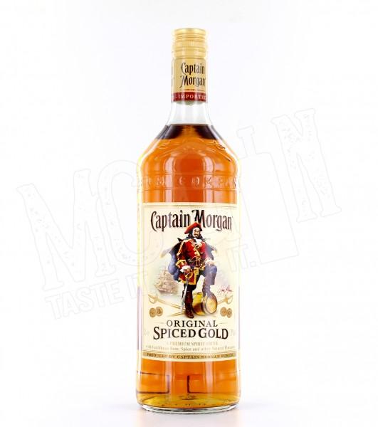 Captain Morgan Spiced Gold - 1.0L