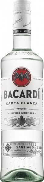 Bacardi Carta Blanca - 0.7L