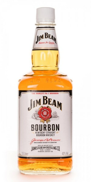 Jim Beam Kentucky Straight Bourbon Whiskey - 1.5L