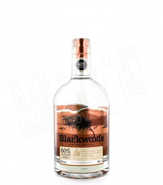 Blackwood's Vintage Dry Gin - 0.7L