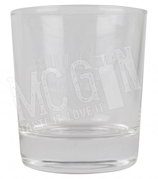 Bulleit Whisky Glas