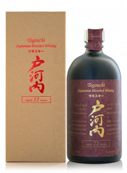 Togouchi 12 Jahre Japanese Blended Whisky - 0.7L