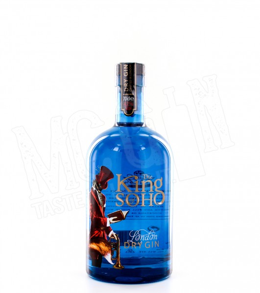 The King of Soho London Dry Gin - 0.7L