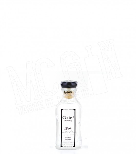 Ziegler G=in³ Dry Gin - 0.05L